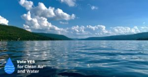 Vote Yes for Clean Air and Water NYS